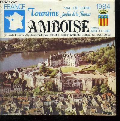 TOURAINE JARDIN DE LA FRANDE. AMBOISE.