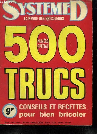 SYSTEME D LA REVUE DES BRICOLEURS. N° 363 BIS.