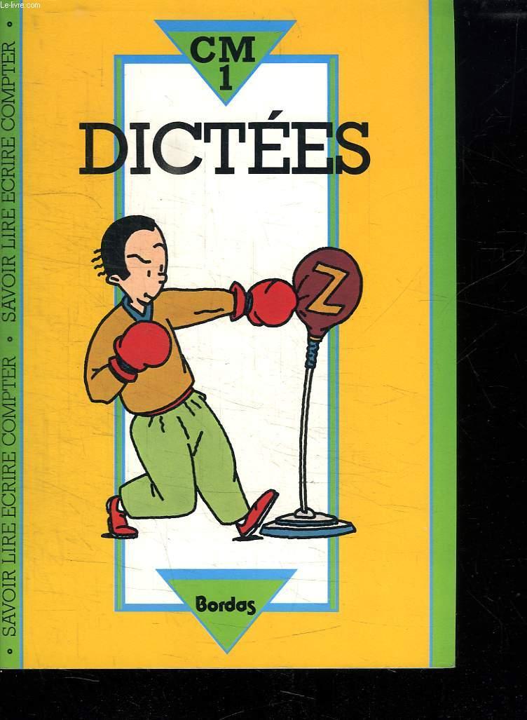DICTEES COURS MOYEN 1.