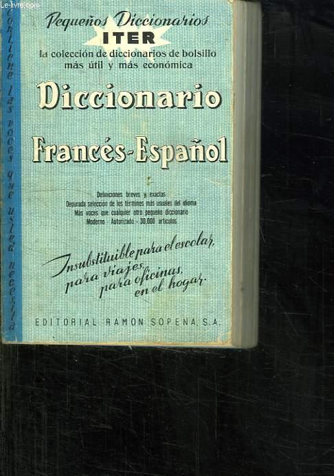 DICCIONARIO FRANCES ESPANOL.