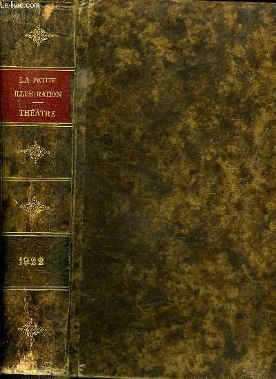 LA PETITE ILLUSTRATION THEATRE 1922. DU N° 58 AU N° 84.