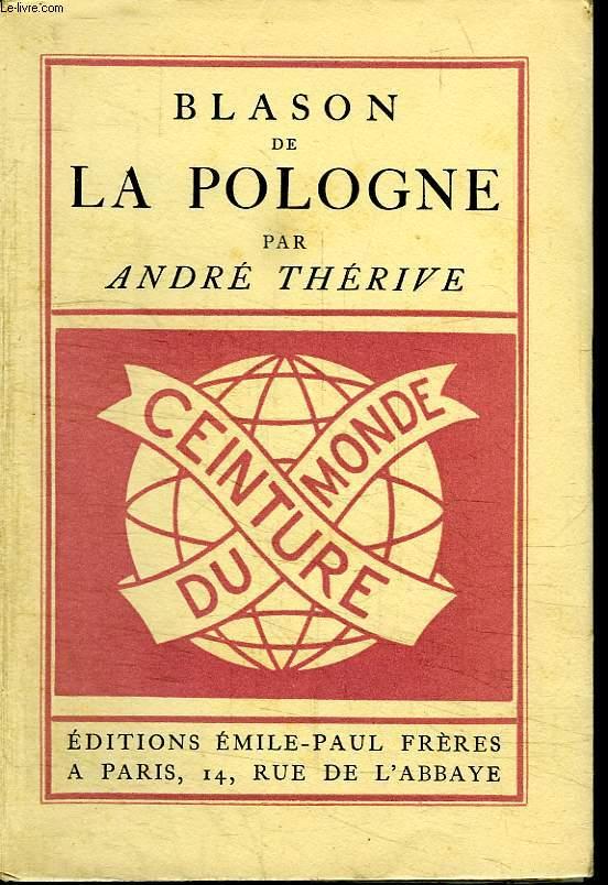 BLASON DE LA POLOGNE.