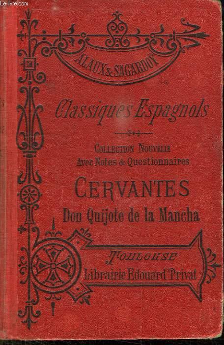 CLASSIQUES ESPAGNOLS. CERVANTES. D QUICHOTE DE LA MANCHA NOVELAS EJEMPLARES. HUITIEME EDITION.