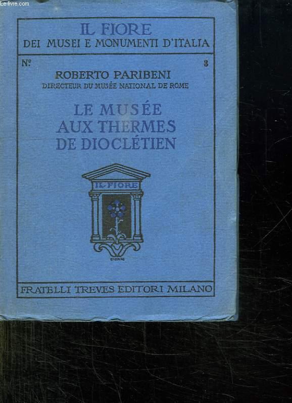 LE MUSEE NATIONAL DE ROME AUX THERMES DE DIOCLETIEN.
