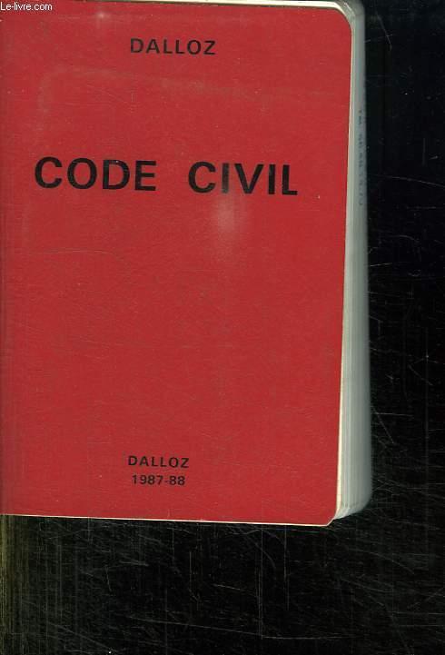 CODE CIVIL. 87 EM EDITION.