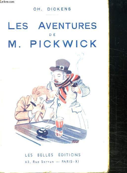 LES AVENTURES DE M PICKWICK.