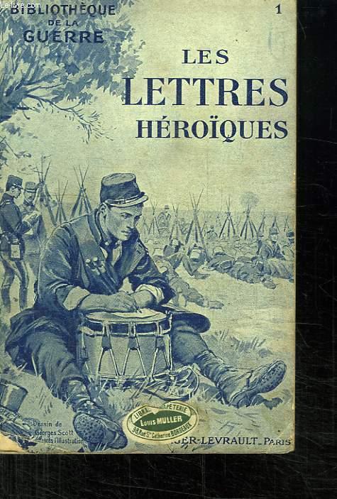 LES LETTRES HEROIQUES.