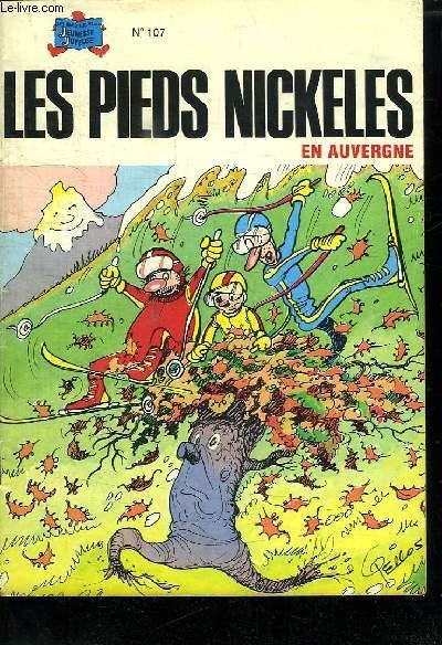 LES BEAUX ALBUMS DE LA JEUNESSE JOYEUSE N° 107. LES PIEDS NICKELES EN AUVERGNE.