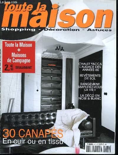 TOUTE LA MAISON. N° 81 JANVIER FEVRIER 2010. SOMMAIRE: DE STYLE FLAMAND UNE MAISON DE NOTAIRE. JEAN CLAUDE GALLON SON TRIPLEX AUX HALLES...