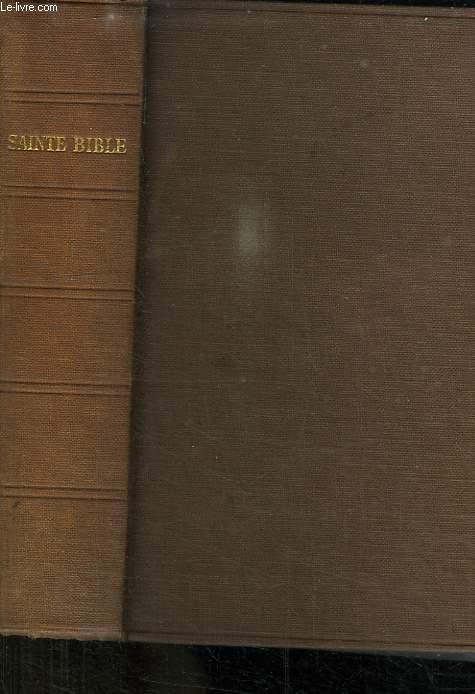 LA SAINTE BIBLE NOUVEAU TESTAMENT.