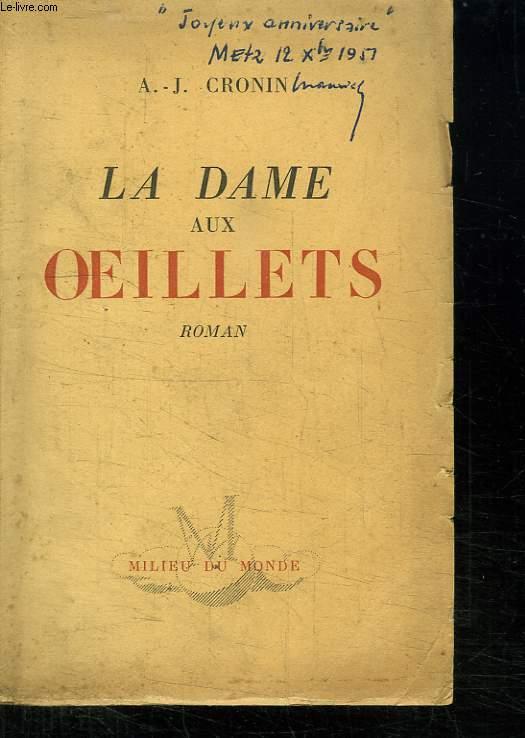 LA DAME AUX OEILLETS.