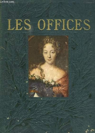 LE GRAND MUSEE DU MONDE ILLUSTRE EN COULEURS. LES OFFICES DE FLORENCE TOME PREMIER.