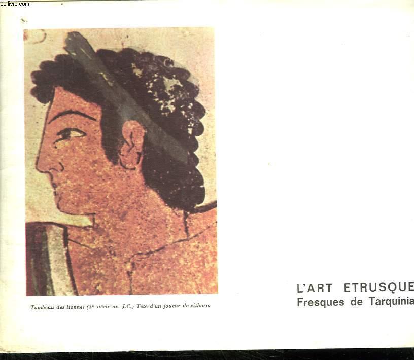L ART ETRUSQUE. FRESQUES DE TARQUINIA.