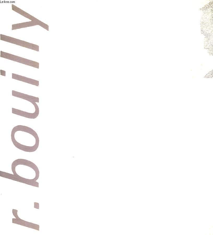 R BOUILLY AU CHATEAU GENICART A LORMONT DU 19 AVRIL AU 11 MAI 1988.
