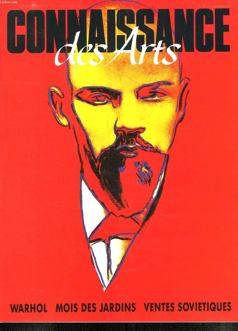 CONNAISSANCE DES ARTS N° 460 JUIN 1990. SOMMAIRE: PARIS LA NUIT, UNE POLITIQUE DE JARDINS, NIC UN PARI POUR L ART CONTEMPORAIN...