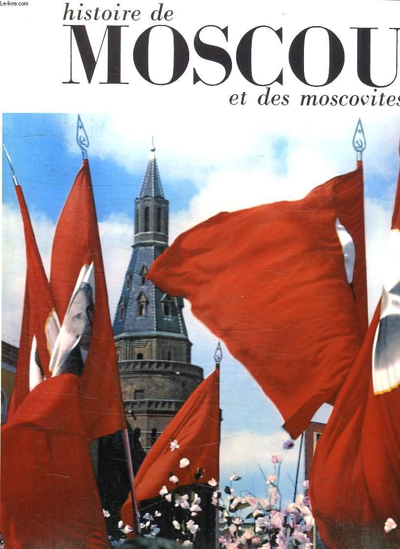HISTOIRE DE MOSCOU ET DES MOSCOVITES.