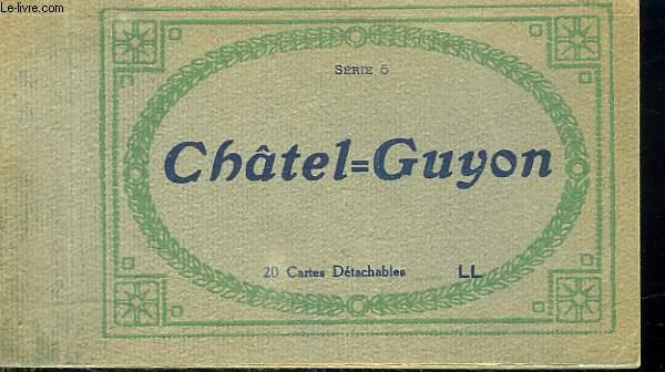 CHATEL GUYON. 20 CARTES DETACHABLES.
