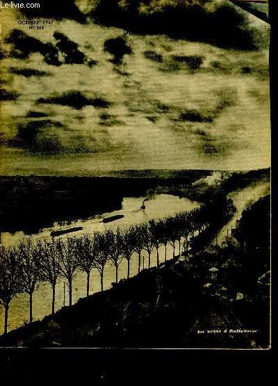 LA REVUE DU TOURING CLUB DE FRANCE. N° 568. OCTOBRE 1947. SOMMAIRE: UNE ECONOMIE RUINEUSE, LE CIRCUIT DES PLAGES DU DEBARQUEMENT...