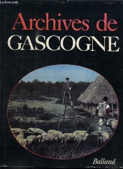 ARCHIVES DE GASCOGNE.