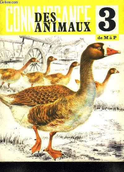 CONNAISSANCE DES ANIMAUX 3. DE M A P.