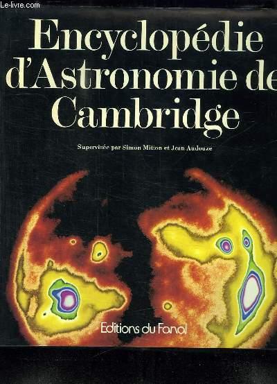 ENCYCLOPEDIE D ASTRONOMIE DE CAMBRIDGE.