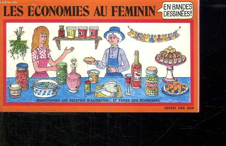 LES ECONOMIES AU FEMININ EN BANDES DESSINEES.