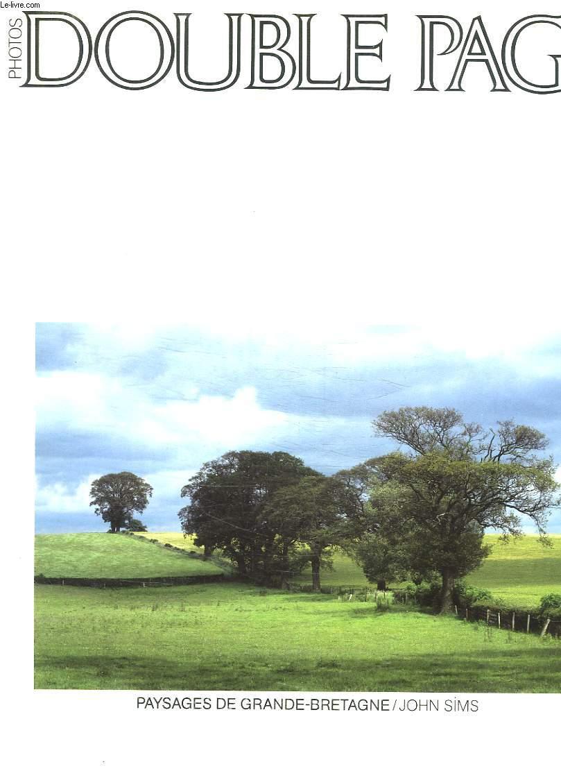 DOUBLE PAGE. N° 37. PAYSAGES DE GRANDE BRETAGNE PAR JOHN SIMS.