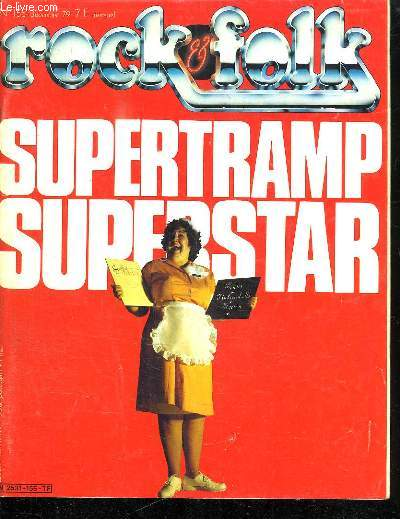 ROCK AND FOLK N° 155. DECEMBRE 1979. SOMMAIRE: SUPERTRAMP SUPERSTAR. ACDC.LE MARATHON DISCO...