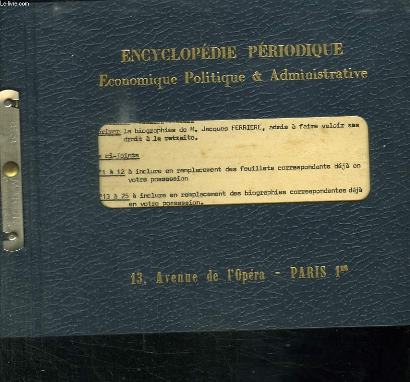 ADMINISTRATION FRANCAISE. LES ADMINISTRATION CENTRALES. MINISTERE DE LA CONSTRUCTION.
