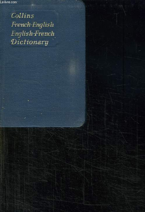 COLLINS FRENCH GEM DICTIONARY.