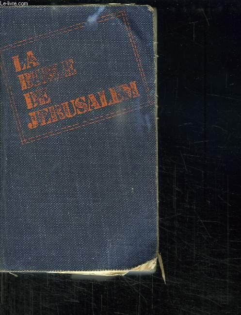 LA BIBLE DE JERUSALEM.