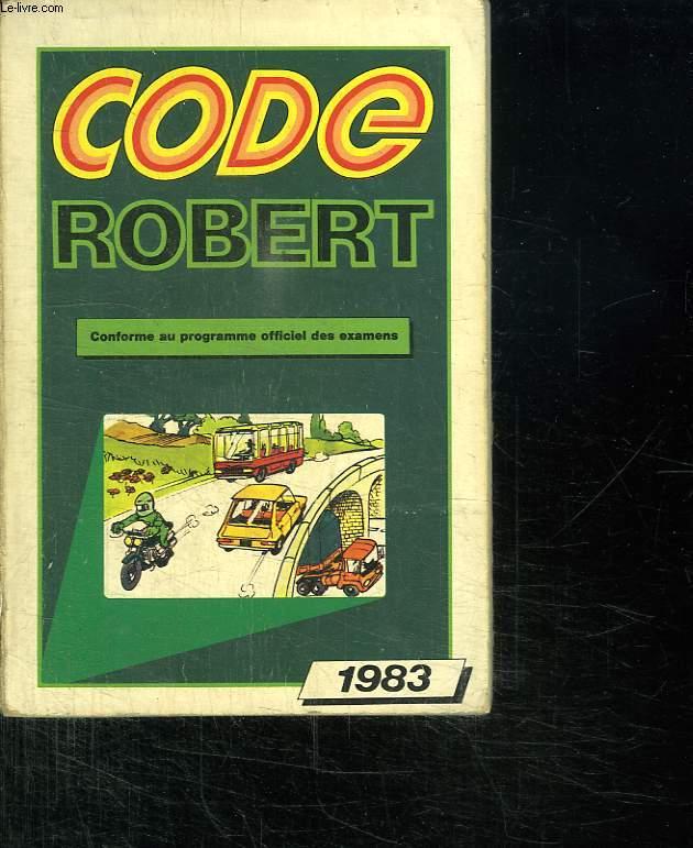 CODE ROBERT. 1983.