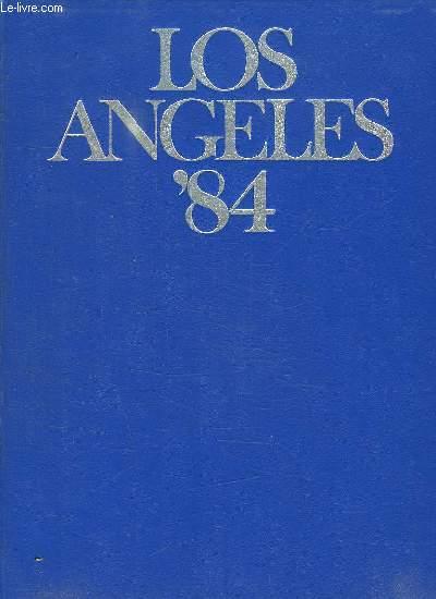 LOS ANGELES 84. TEXTE EN FRANCAIS, ALLEMAND, ANGLAIS, ESPAGNOL.