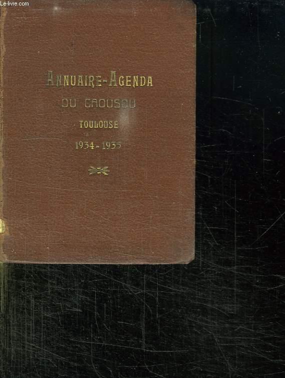 ANNUAIRE DE L ECOLE DE L IMMACULEE CONCEPTION DE L ECOLE SAINT STANISLAS ET DE L ECOLE SAINT LOUIS DE GONZAGUE. ANNEE 1934 - 1935.