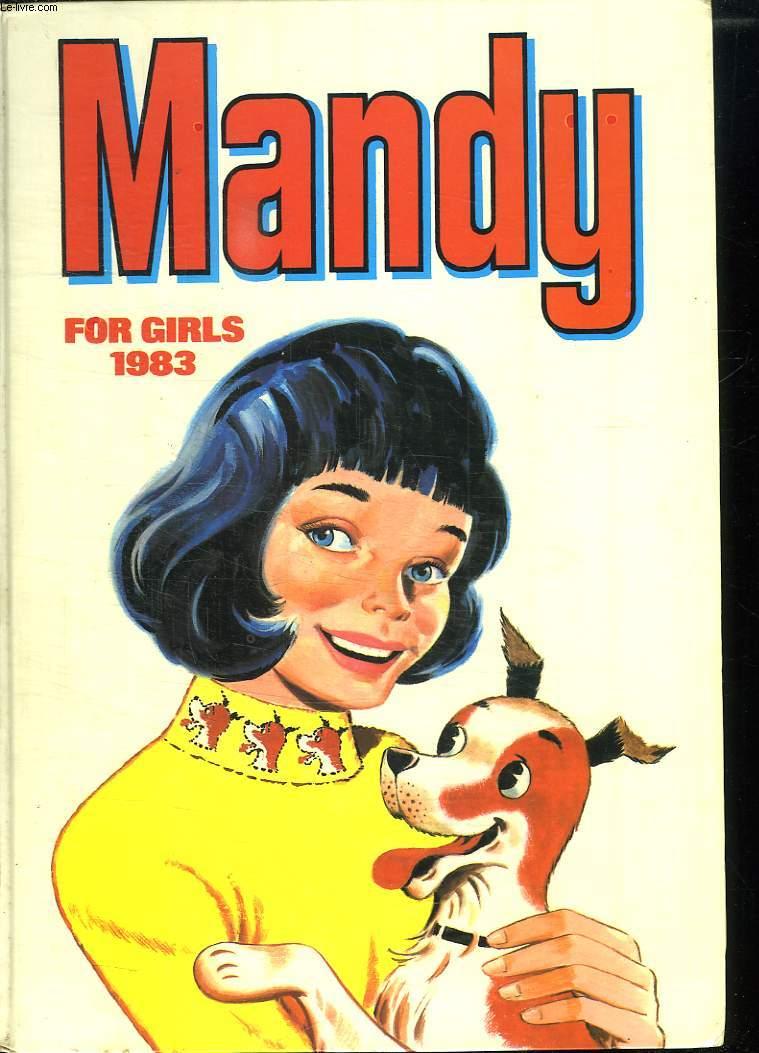 MANDY FOR GIRLS 1983. TEXTE EN ANGLAIS.