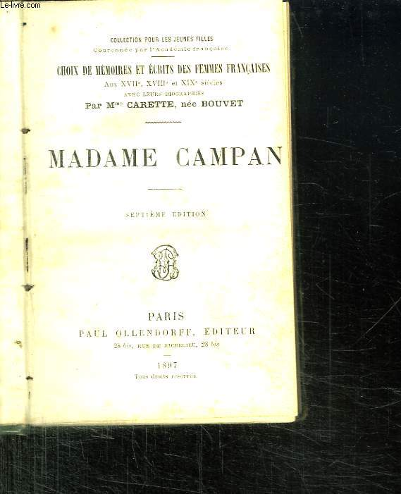 MADAME CAMPAN.