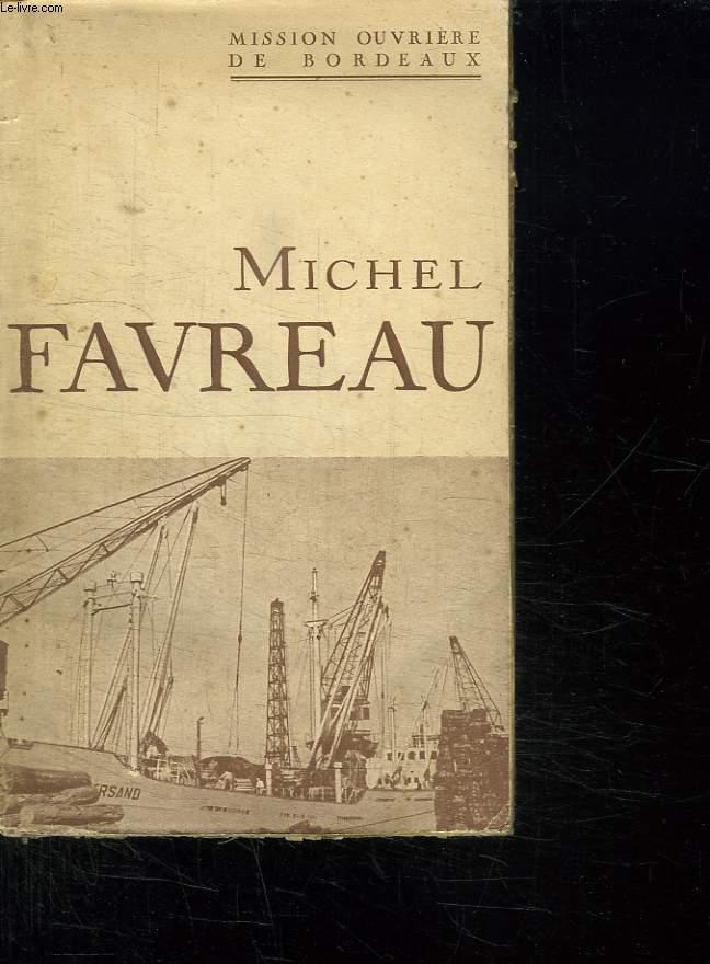 MICHEL FAVREAU.