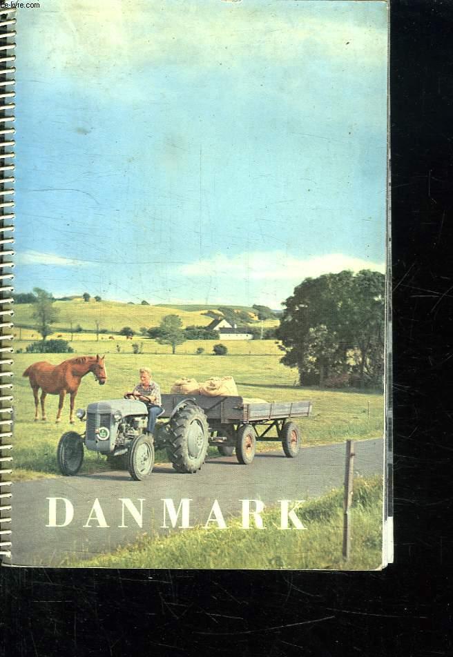 DANMARK. CALENDRIER. 1957.