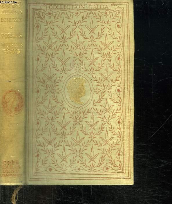 POESIES NOUVELLES 1936 - 1852.