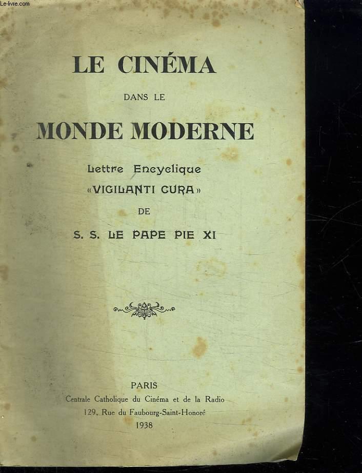 LE CINEMA DANS LE MONDE MODERNE.