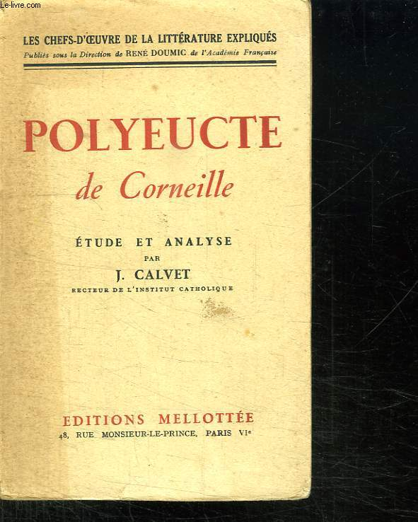 POLYEUCTE DE CORNEILLE.