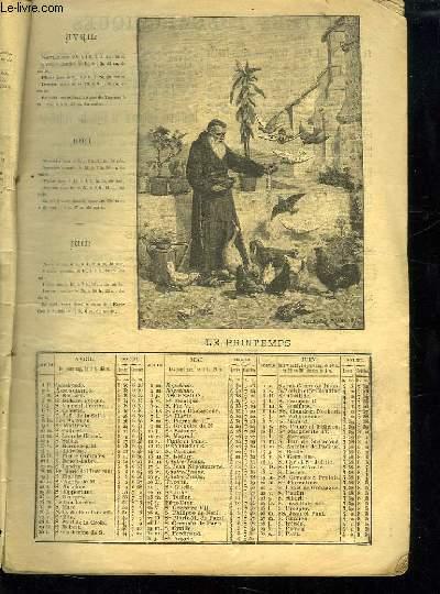 ALMANACH DU PELERIN 1894.