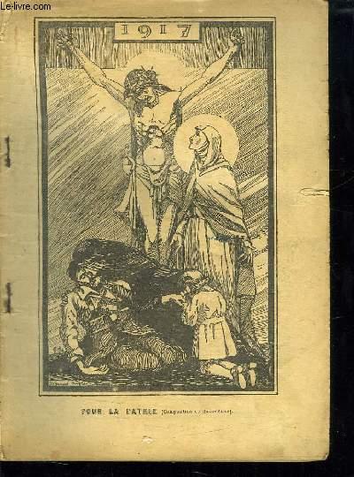 ALMANACH DU PELERIN 1917.