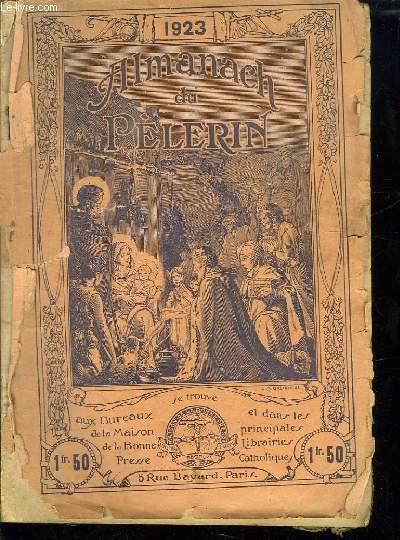 ALMANACH DU PELERIN 1923.