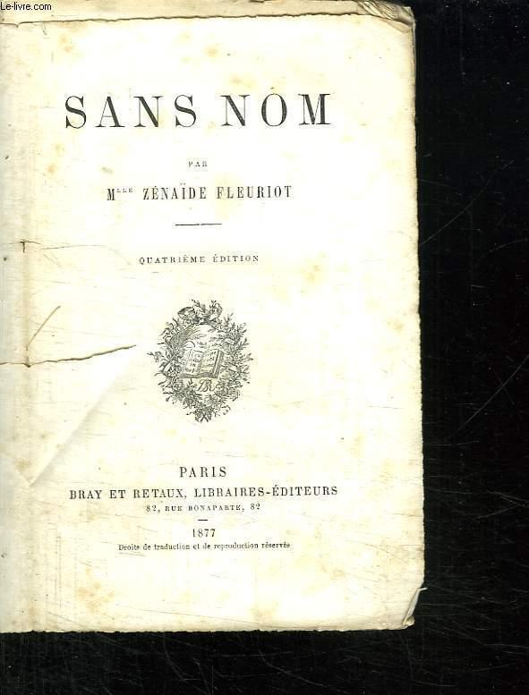 SANS NOM. 4em EDITION.