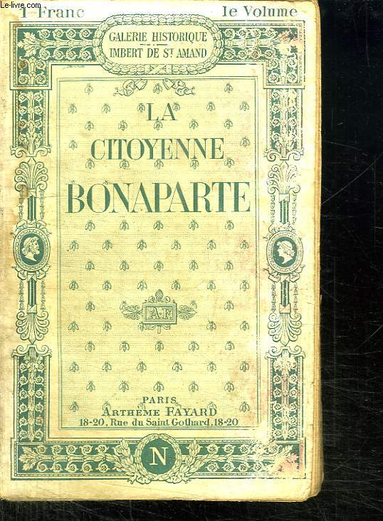 LA CITOYENNE BONAPARTE.