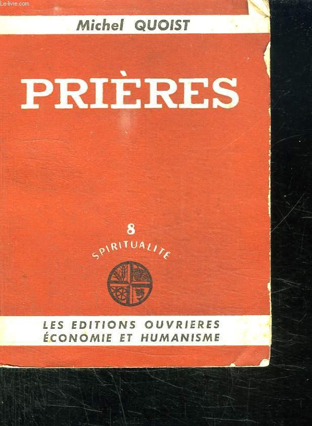PRIERES. 8 SPIRITUALITE.