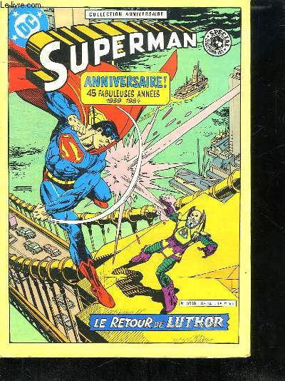 SUPERMAN. LE RETOUR DE LUTOR.