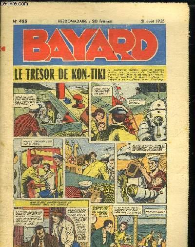 BAYARD N° 455 DU 21 AOUT 1955. LE TRESOR DE KON TIKI.