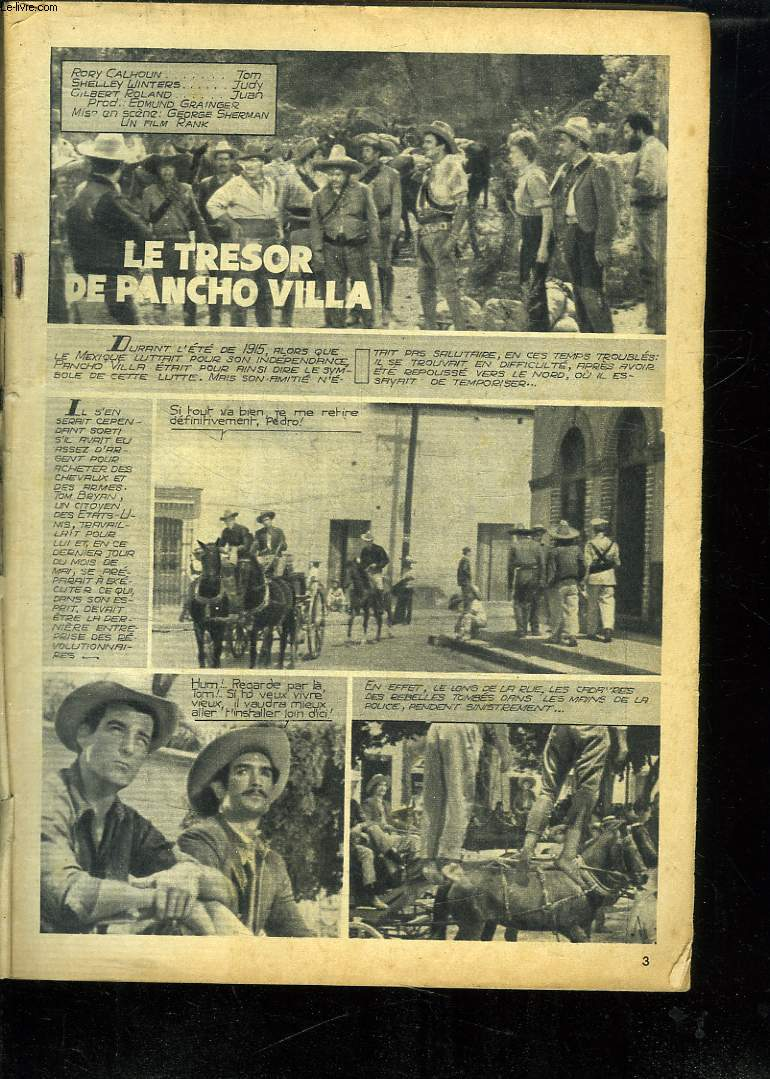 LE TRESOR DE PANCHO VILLA.